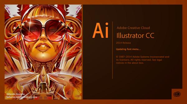 Adobe splashscreen